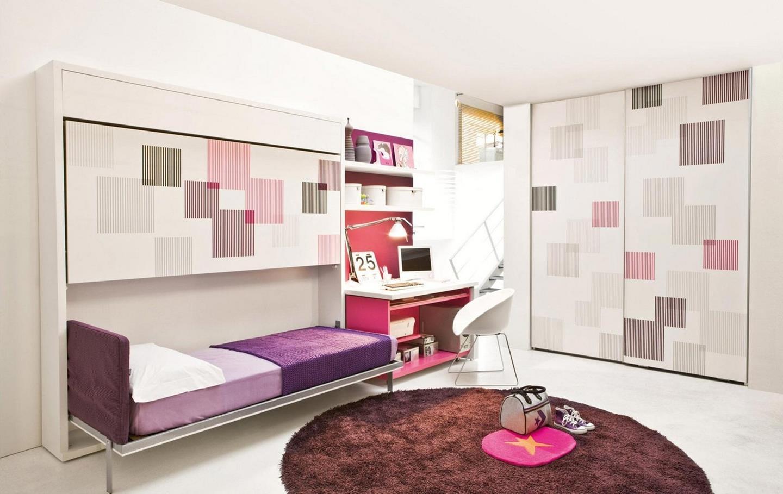 Slaapkamer Bruin Paars : Retro slaapkamer ilikeinteriors